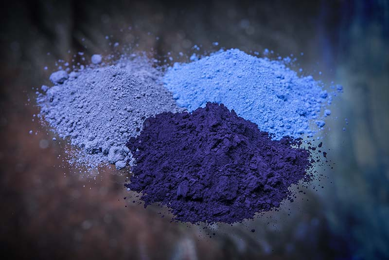 Cement Pigment Powder : Affordable cobalt blue pigment for concrete and cement